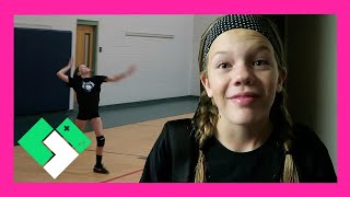 Download CRUSHING IT AT CLUB VOLLEYBALL SCRIMMAGE (Day 1718) Video