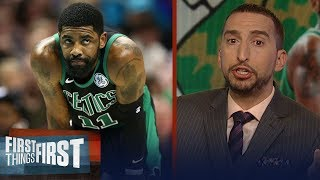 Download Celtics sweep Pacers, Nick Wright doubts Boston can challenge Milwaukee | NBA | FIRST THINGS FIRST Video