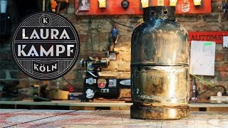 Download Laura´s Gas Bottle Stove Video