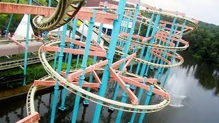 Download Dream Catcher front seat on-ride HD POV Bobbejaanland Video