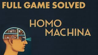 Download Homo Machina - Full Game Solution and Walkthrough Video