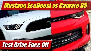 Download Face Off: Mustang EcoBoost vs Camaro RS V6 Video