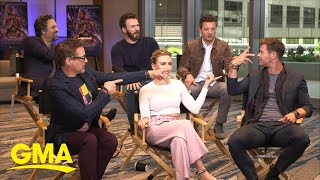 Download 'Avengers: Endgame' cast talks about the film's highly-anticipated debut l GMA Video