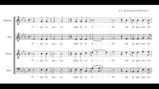 Download Victoria, Popule meus (score) Video