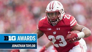 Download 2018 Big Ten Running Back of the Year: Wisconsin's Jonathan Taylor | Big Ten Football Video
