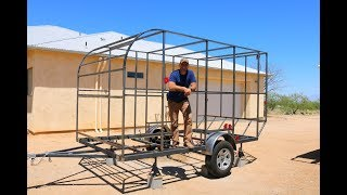 Download How to Build a DIY Travel Trailer - The Frame (part 1) Video