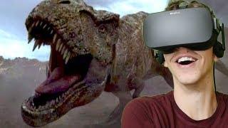 Download BLUE FIGHTS REXY!!! - Jurassic World: Blue | Oculus VR Video