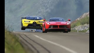 Download Bugatti Vision GT vs Super Cars at Highlands Video