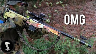 Download Guy Brings Airsoft AWP Dragon Lore and Destroys Everyone! Video