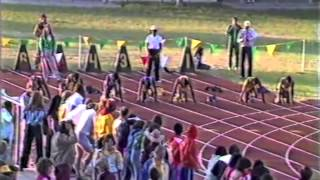 Download 1982 NCAA D2 100 Meter Dash Championship Video