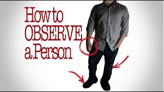 Download How to Observe a person: Things to Look For Video