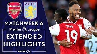 Download Arsenal v. Aston Villa   PREMIER LEAGUE HIGHLIGHTS   9/22/19   NBC Sports Video