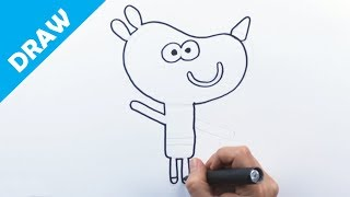 Download Learn how to draw Tag - Hey Duggee Video