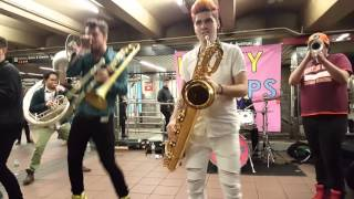 Download Lucky Chops @ Herald Sq Video