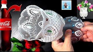 Download How to Make a Cool Plastic Bottle Flower Vase DIY Crafts Ideas Video