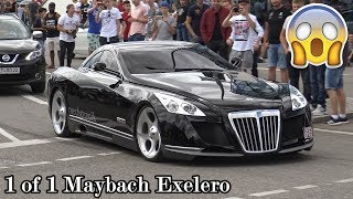 Download The 8 Million Dollar Maybach Exelero in Motorworld Böblingen! Great Sounds! Video