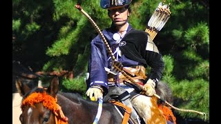 Download Yabusame (Japanese Horseback Archery) at Meiji Shrine on Culture Day 流鏑馬 Video
