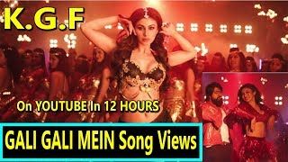 Download KGF Song Gali Gali Mein Song Views In 12 Hours On Youtube Is Promising Video