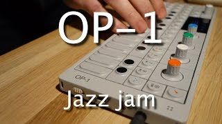 Download Teenage Engineering OP-1: Live jazz jam - ″Flamingo″ [Tutorial] Video
