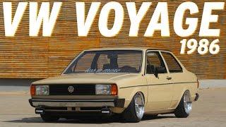 Download VW Voyage 1986 impressiona no visual mesmo gastando pouco Video