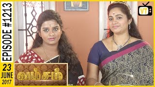 Download Vamsam - வம்சம் | Tamil Serial | Sun TV | Epi 1213 | 22/06/2017 Video