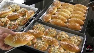 Download Feta and Parsley Cheese Bread - Poğaça Tarifleri - Turkish Cuisine Video