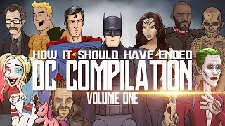 Download How It Should Have Ended - The DC Movies Compilation: Volume One Video