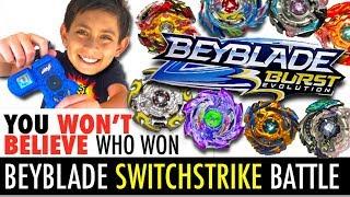 Download Best Beyblade Switchstrike Battle! New Beyblade Burst Evolution Tournament! Video