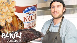 Download Brad Uses Moldy Rice (Koji) to Make Food Delicious | It's Alive | Bon Appétit Video