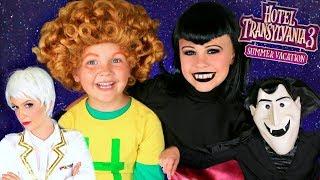 Download Hotel Transylvania 3 Mavis, Dracula, Dennis Makeup and Costumes Video