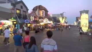 Download ATLANTIC CITY BEACH AND BOARDWALK SCENE - NJ New Jersey Shore Ocean View Travel Tour Guide Video