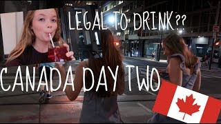 Download Legal To Drink In Canada? || Canada Day Two! Video