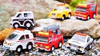 Download はたらくくるま 小さな緊急車両のセットを紹介するよ♪ 消防車 救急車 パトカー 消防署 警察 トミカ 幼児 子供向け動画 TOMICA TOY KIDS VEHICLES Video