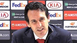 Download Arsenal 1-0 Qarabag - Unai Emery Post Match Press Conference - Eurpoa League Video