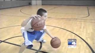 Download 12-year old Jordan McCabe basketball prodigy and phenom on KOMO News Seattle Little Heroes Video