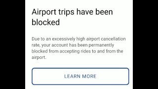 Download Uber is BLOCKING Drivers From Picking up Rides from Airport?!?! Video