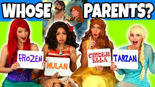 Download Guess the Disney Movie Parents. Can you Guess the Disney Character? Totally TV Dress Up. Video