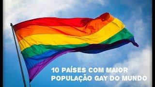 Download 10 Países Com Maior População Gay Do Mundo! Video