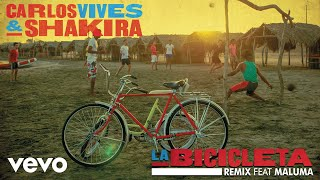 Download Carlos Vives, Shakira - La Bicicleta ft. Maluma Video