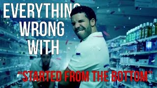 Download Everything Wrong With Drake ″Started From The Bottom″ Video