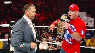 Download Raw: John Cena pleads with Mr. McMahon to reinstate CM Punk Video