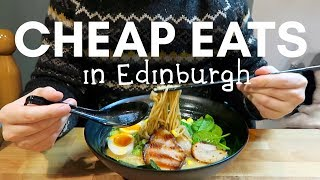 Download Our favourite CHEAP EATS in EDINBURGH! Video