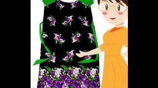 Download Designer Yoke Nightie Cutting And Stitching | Raglan Sleeves | DIY - Tailoring With Usha Video