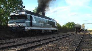Download Démarrage brutal de la CC 72084 à Auxy ! Video