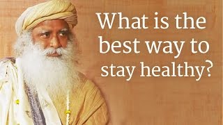 Download What is the best way to stay healthy? - PC Reddy in conversation with Sadhguru, Video