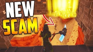 Download *NEW SCAM* The Disappearing Trap Scam BEWARE! Scammer Gets Scammed in Fortnite Save The World Video