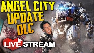 Download TITANFALL 2: ANGEL CITY DLC IS AWESOME!! (+ GIVEAWAY) | Live Stream Video
