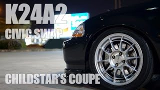 Download CHILDSTAR'S K24A2 SWAP Video