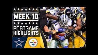 Download #1 Cowboys vs. Steelers | NFL Week 10 Game Highlights Video
