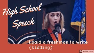Download Humorous / Funny Graduation Speech Video